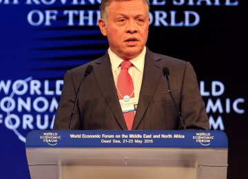 Jordan King Inaugurates WEF