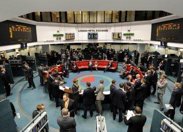 London Metals Cut Losses