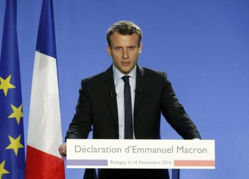Macron to Overhaul Taxes
