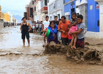 Peru Growth Falls