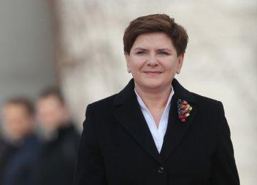 """Polish PM Has """"Good News"""""""