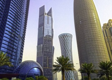 Qatari growth rate to decline to 2% in 2017.