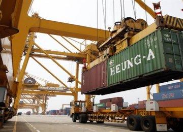 South Korea Exports Rise 6.9%