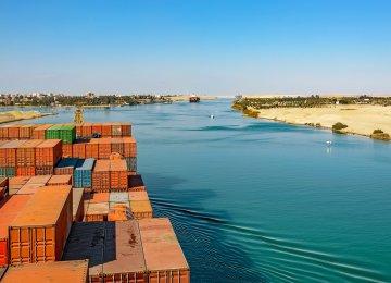 Suez Canal Revenues Fall