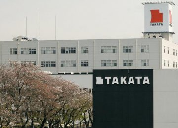 Takata Headed for Bankruptcy