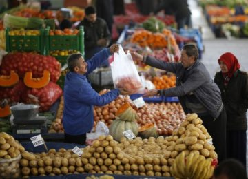 Turkey Inflation at 8-Year High