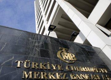 Turkey CB  Raises Inflation Forecast to 8.5%