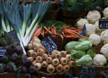 UK Food Inflation at 3-Year High