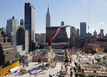 US Construction Spending Seen at Ten-Year High