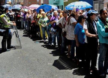 Venezuela Shrunk by 16.5% in 2016