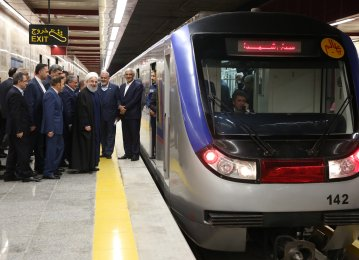 Tehran Metro Line 6 Launched