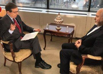 Zarif: US Pressure Campaign Will Fail