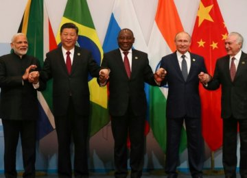 BRICS Nations Vow to Consolidate Partnership