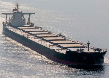 Exports of iron ore from Brazil  are declining due to the rainy season.