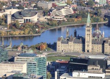 Canada Deficit Near $14b