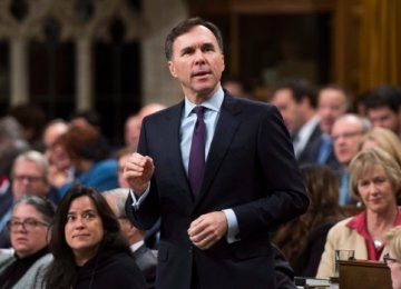 Bill Morneau says his next budget  will be introduced on Feb. 27.
