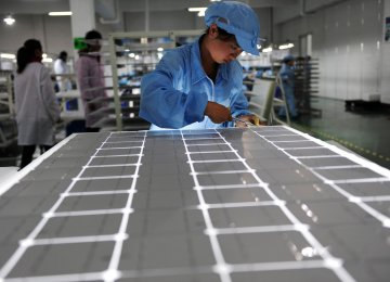 EU this month ended anti-dumping measures  on China's photovoltaic products.