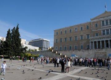 Clock Ticks  for Greece