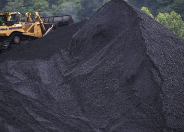 China is the world's largest consumer of coal.