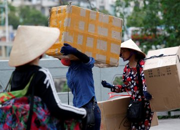 Retail sales in Vietnam rose nearly 11% last year to $129 billion.