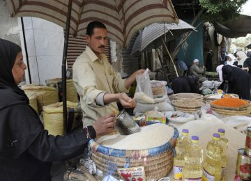 Egypt's Urban Inflation  Over 31%