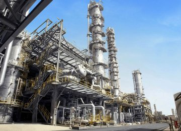 Shares of petrochemical companies in Asia slumped on Tuesday, tracking the global equity downturn overnight.