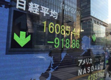 Global Share Sell-Off Hits Asia