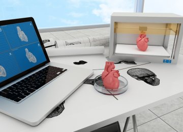 The healthcare industry is proving to be an enthusiastic adopter of the 3D printing technology.