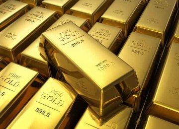 Gold Hits  1-Week Low