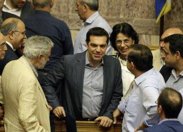 Greece Parliament Approves Final Bailout Budget