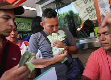 IMF Forecasts 1 Million Percent Inflation in Venezuela