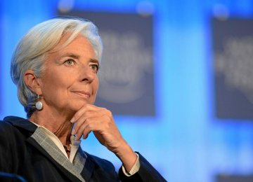 Lagarde Says Financial Crisis in US Possible