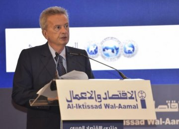 Lebanon CB Head Expects 2% GDP Rise