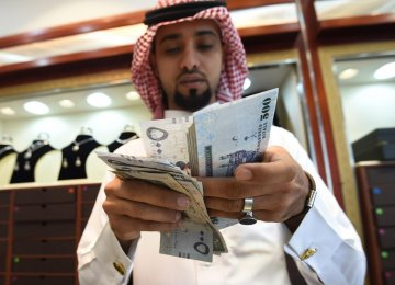 Saudi Arabia's plunging crude prices (a largely self-inflicted wound) blew a hole in the budget and very soon the kingdom was running a fiscal deficit that at one point rose to some 16% of GDP.