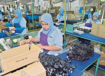 Malaysia's economic activities are driven by the private sector.