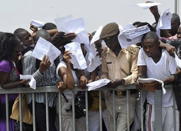 Nigerians Concerned Over Rising Unemployment