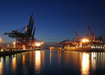 Eurozone growth is expected to come from France, Germany and Italy, while China, Brazil, and Russia economies are expected to gain momentum over the coming months. The picture shows Container Terminal Burchardkai in Hamburg, Germany.