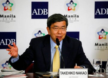 ADB President Takehiko Nakao says new technologies such as AI can generate new occupations.