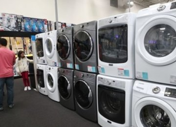 South Korea sells 2.5-3m washing machines annually  to the United States.