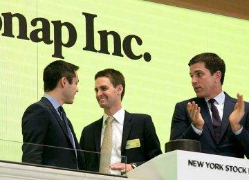 Snap's stocks opened at $24 and closed at $24.88.