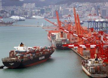 South Korea GDP Growth Slows