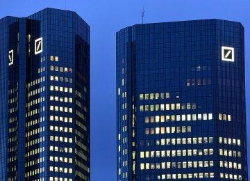 S&P Cuts Deutsche Bank Rating