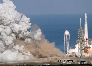 Falcon Heavy is designed to place up to 70 tons into standard low-Earth  orbit at a cost of $90 million per launch.