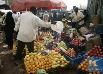 Prices of goods and services have soared in Sudan since  South Sudan seceded in 2011.