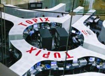 Japan's Topix index advanced 0.6%.