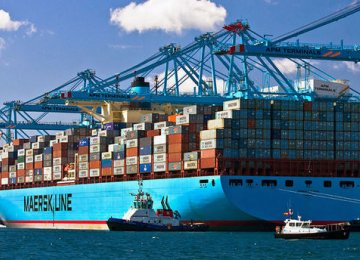 Imports surged 20% outpacing a 9% increase in exports.