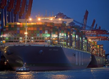 While the export of goods in August  was 0.7% up on the previous month,  imports rose by 4.2%.
