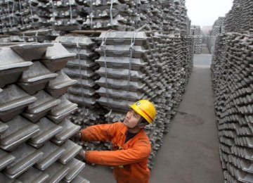 China's capacity to produce aluminum more than quadrupled between 2007 and 2015.
