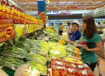 Vietnam CPI Registers 3.8 Percent Increase