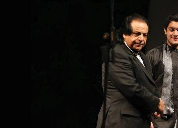 Ali Rahbari (L) and Pourya Khadem